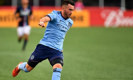 SHORT-HANDED, SHORT-CHANGED: Playing a man down, NYCFC goes down to loss at New England