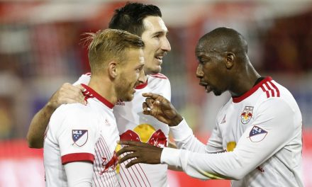 A LEG DOWN: Red Bulls lose 1st game of conference semis to Toronto at home, 2-1