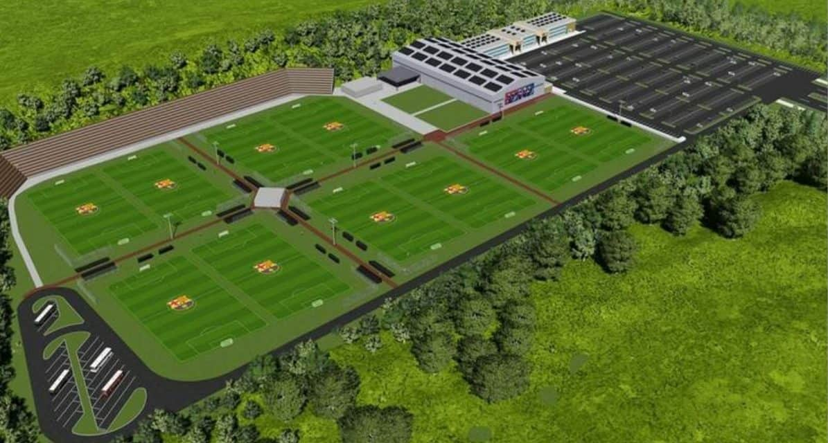 BARCA ACADEMY: FC Barcelona building an academy in Kings Park, Long Island