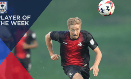 NASL PLAYER OF THE WEEK: Deltas' Burke goes on the offensive