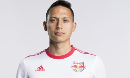 A HEAD'S UP PLAY: Rare Davis goal sparks Red Bulls' series win