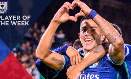 HE'S THE MAN: Cosmos' Ledesma named NASL player of the week