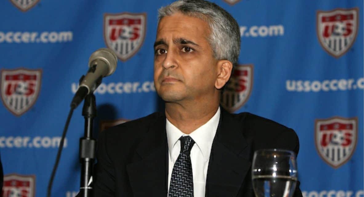 THE BUILDER: Sunil Gulati elected to National Soccer Hall of Fame