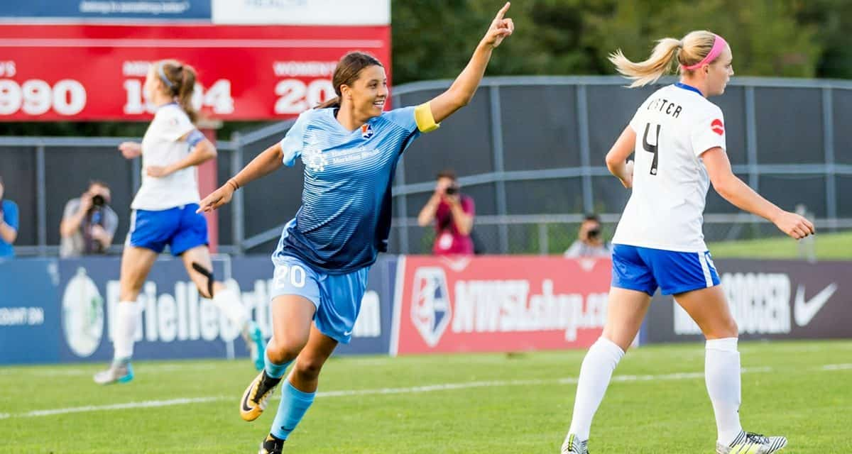 GOLDEN GIRL: Sky Blue's Kerr captures NWSL Golden Boot