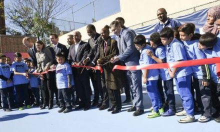 10 NEW MINI-FIELDS: NYCFC, city officials, community leaders inaugurate initiative