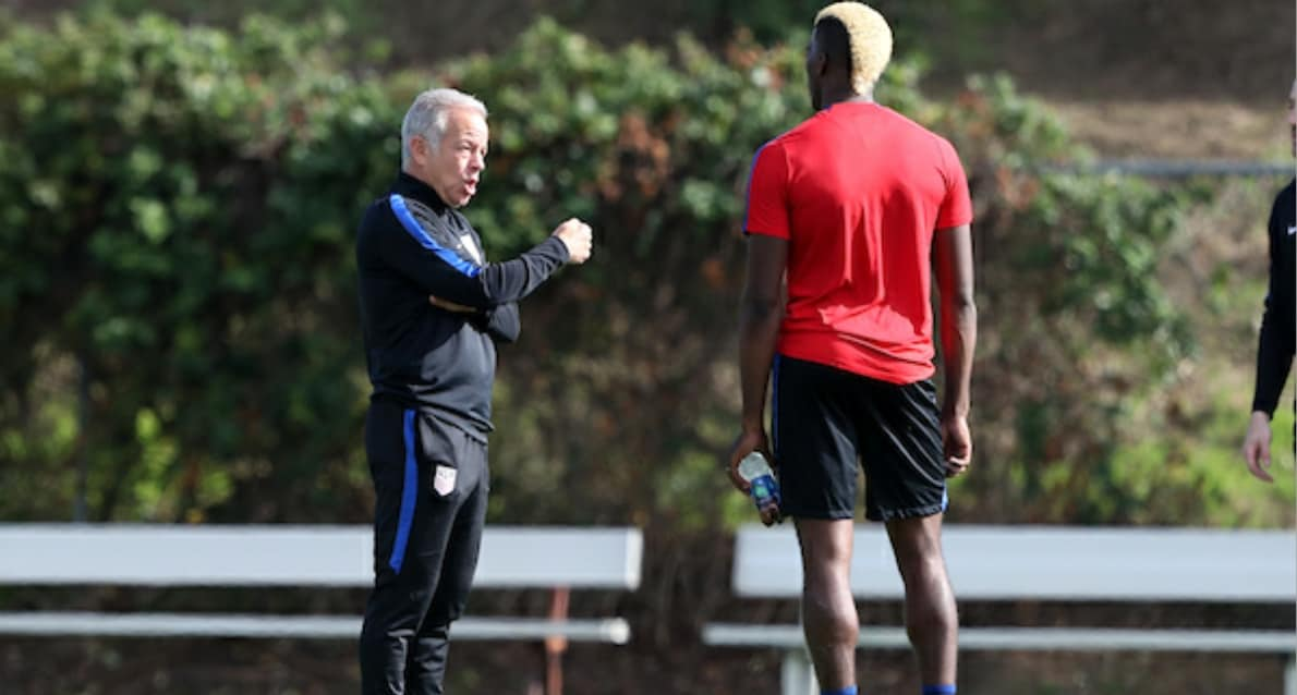 SARACHAN'S THERAPY: Coaching the U.S. team after World Cup qualifying disappointment