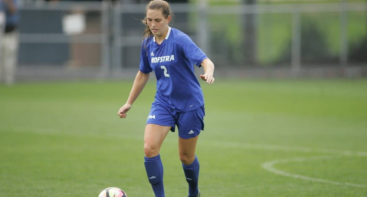 AMONG THE BEST AND THE BRIGHTEST: Hofstra's Anderson named Scholar All-American