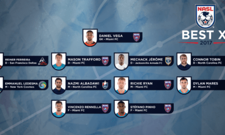 NASL BEST XI: Ledesma lone Cosmos honored