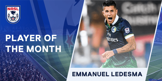 HE HAD AN OCTOBER FEST: Cosmos' Ledesma named NASL player of the month