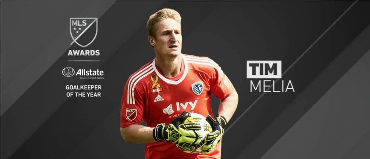 HE'S HANDS ON: Melia named to MLS Best XI