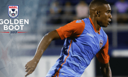 GETTING THE GOLDEN BOOT: Miami FC's Pinho NASL's top goal-scorer