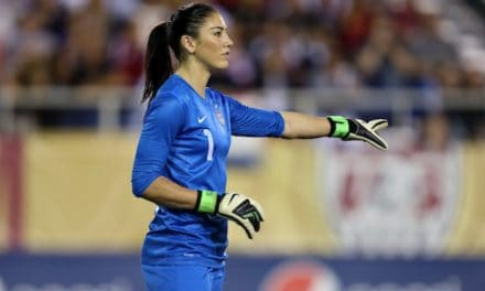 SOLO'S CLAIM: U.S. goalkeeper accuses Blatter of sexually assaulting her