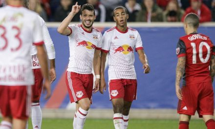 FEELING CONFIDENT: Felipe believes Red Bulls can bounce back at BMO Field and pull off an upset