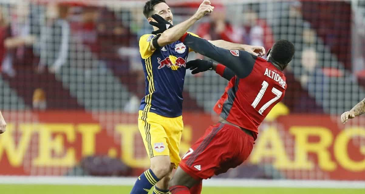 SEEING RED TIMES TWO: Sacha, Jozy given their marching orders for halftime tunnel incident
