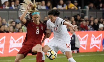 KICKING OFF THE YEAR: U.S. women to start 2018 vs. Euro runners-up Denmark Jan. 21