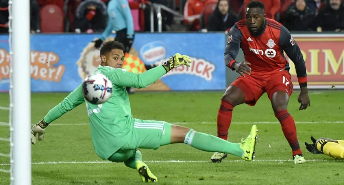 ANKLE'S AWAY: Despite rolling his ankle, Altidore finds a way to score winner, propel Toronto FC into MLS Cup again
