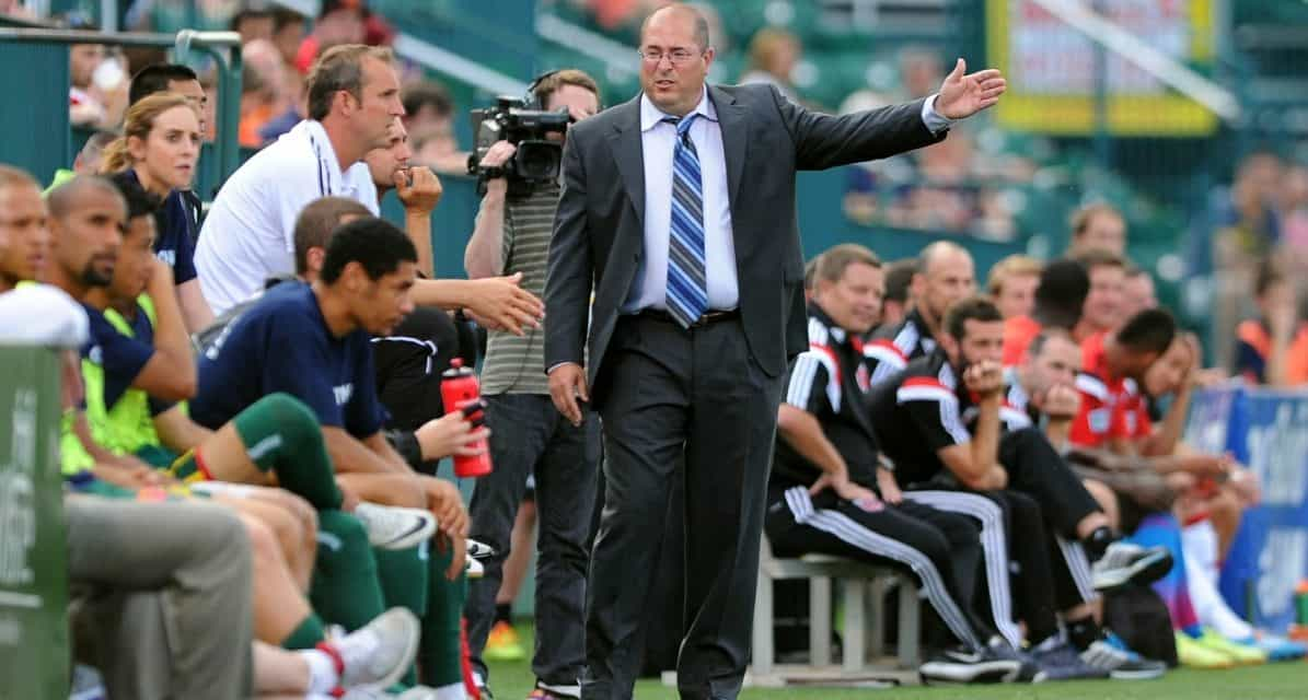 JUMPING TEAMS: Coach Lilley moves from Rhinos to Riverhounds