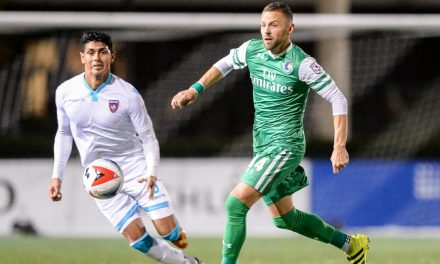 KEEPING THEIR FOCUS: With the NASL's future uncertain, Cosmos try not to think about off-field woes, only about the final