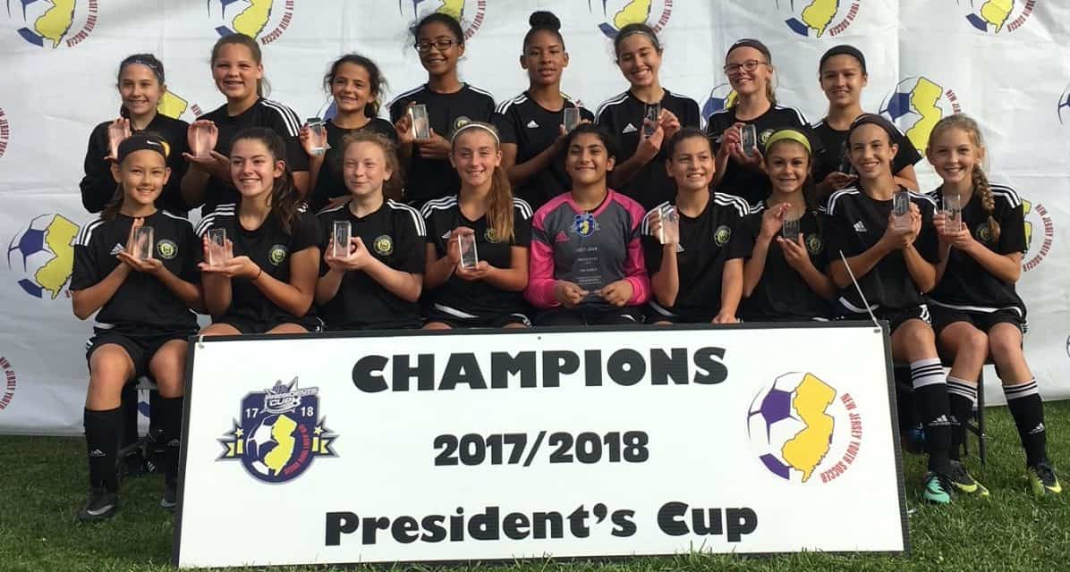 ELITE 18: NJ Youth Soccer crowns 18 champions in 3 competitions
