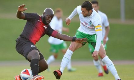 AT DELTAS' HOUSE: Cosmos play in San Francisco for NASL title