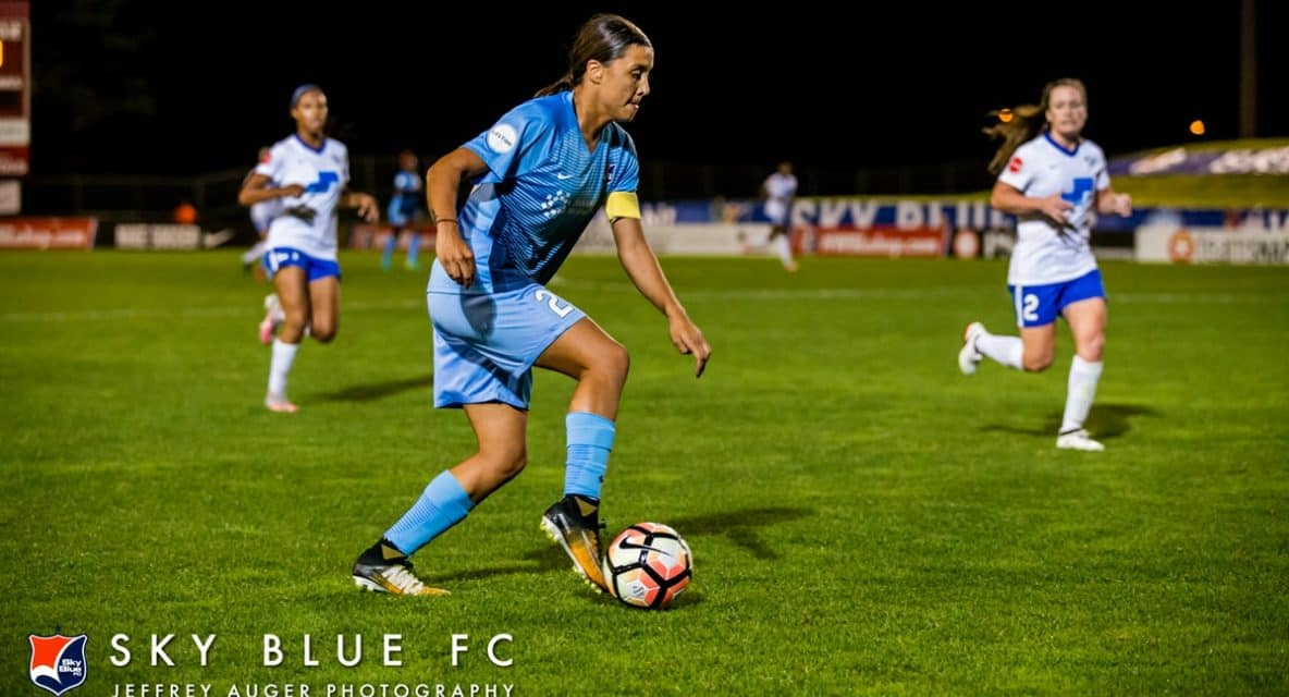 ANOTHER LATE HAT-TRICK: Kerr helps Perth Glory women register 3-3 road draw