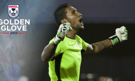 GOLDEN GLOVE WINNER: Miami FC's Vega is the NASL's top goalkeeper