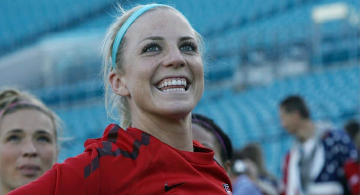 TALKING SOCCER: Julie Ertz on the U.S. tie at the SheBelieves Cup