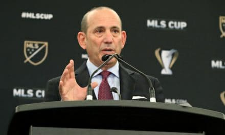 MAKING IT OFFICIAL: Garber announces Miami is part of MLS