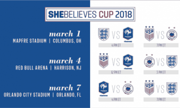 RETURN ENGAGEMENT: Red Bull Arena to host USWNT, SheBelieves Cup doubleheader March 4