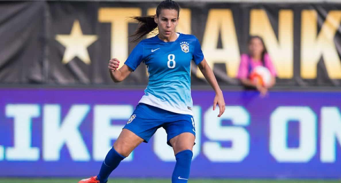 SOME BRAZILIAN FLAIR: Sky Blue FC signs midfielder Thaisa