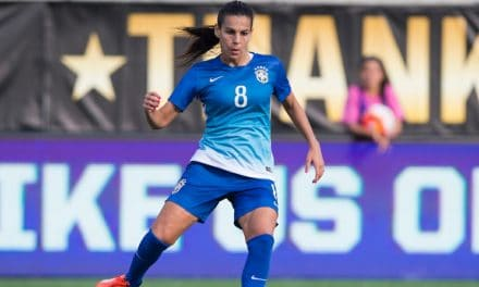 SOME BRAZILIAN FLAIR: Sky Blue FC signs midfielder Thaisa