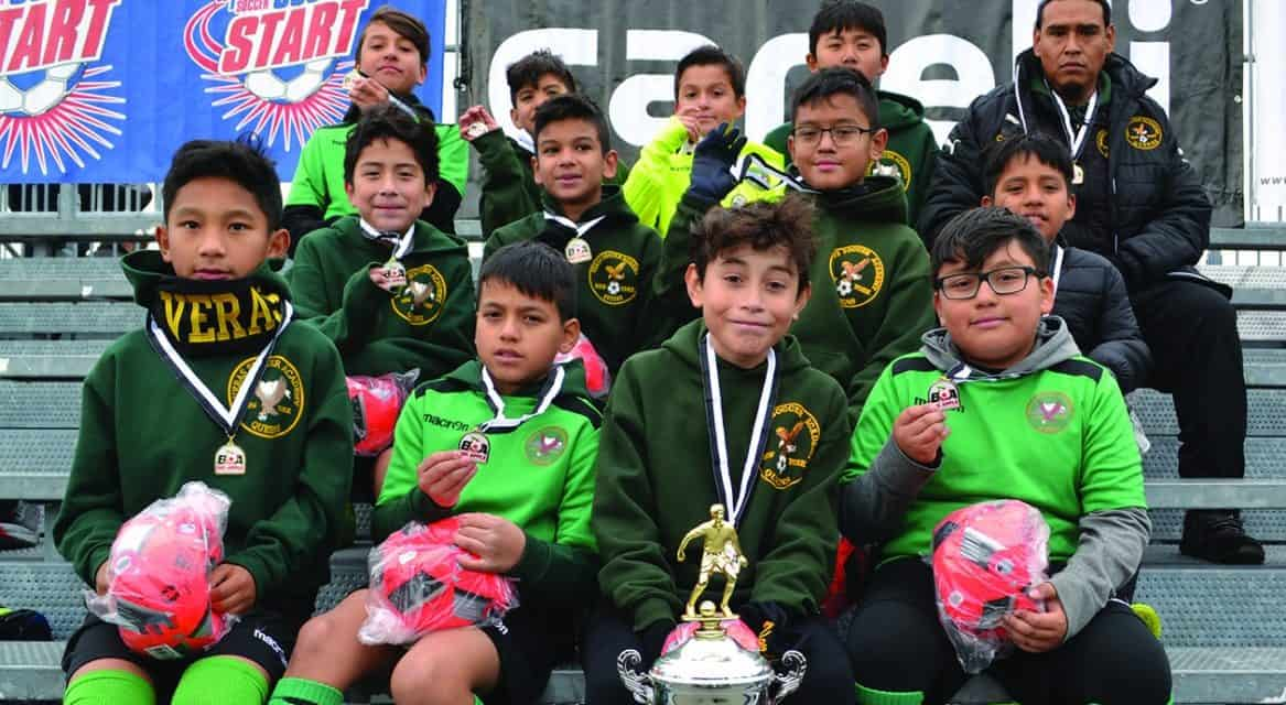 CHAMPIONS CROWNED: At Big Apple Youth Soccer League finals