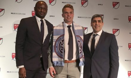 MAKING THE TEAM: NYCFC signs first-round draft choice, GK Caldwell
