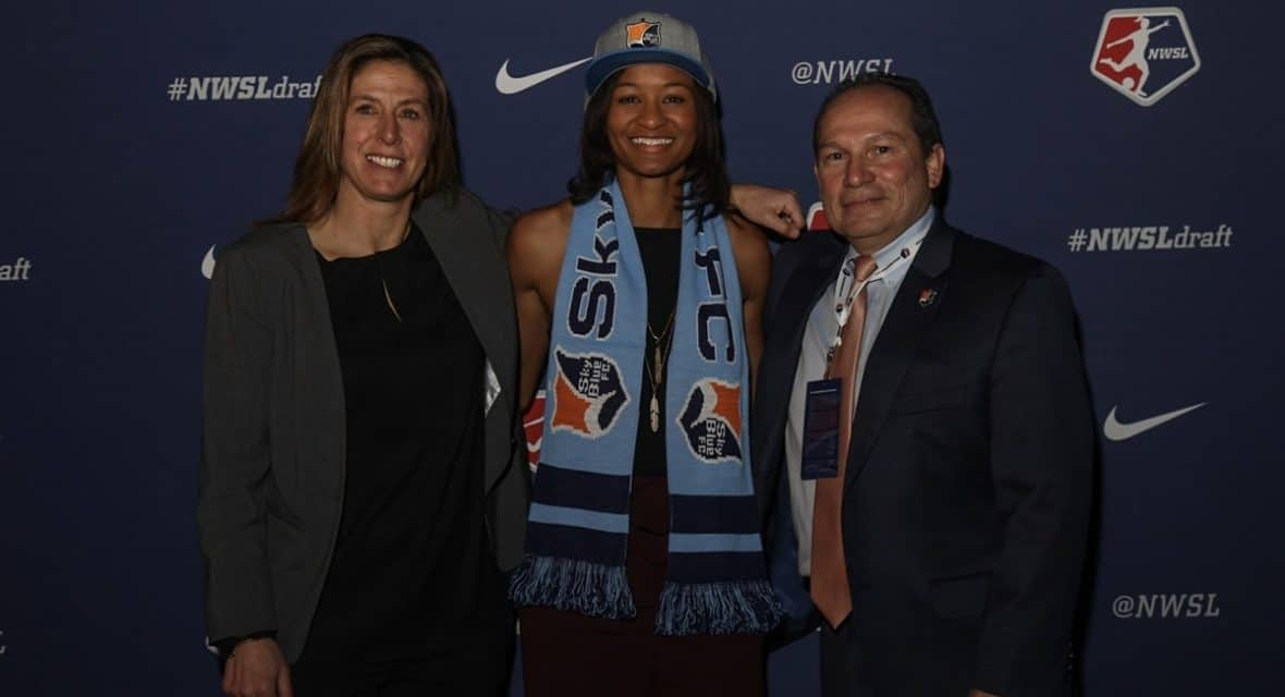 A HIGH FIVE: Sky Blue FC adds 5 players in NWSL college draft