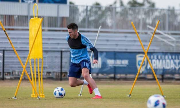 WILL HE STAY OR WILL HE GO?: Harrison still training with NYCFC
