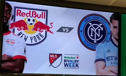 LET'S PLAY THREE: Red Bulls, NYCFC to meet 5/5, 7/8 and 8/22 in Hudson River Derby