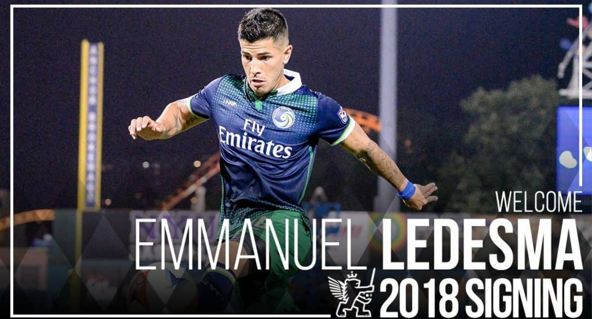 A NEW CHALLENGE: Ex-Cosmos Emmanuel Ledesma signs with FC Cincinnati
