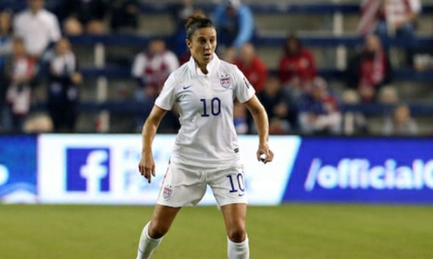 TALENTED QUARTET: Sky Blue's allocated players: Lloyd and Canada's Sheridan, Beckie, Leon