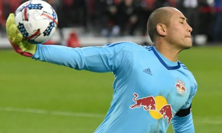 GETTING THE WORD OUT: Red Bulls communication on target in so many ways in scrimmage win