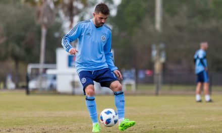DAY TWO: NYCFC gets into the swing of things