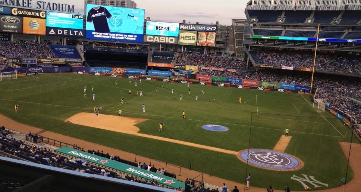 SAME OLD BALL GAME: Nothing new from Garber on NYCFC finding a soccer-specific stadium