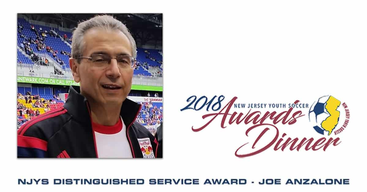 HIGH HONORS: Anzalone named winner of NJ Youth Soccer Distinguished Service Award