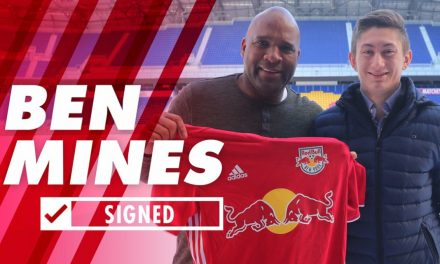 SOME MORE HOME COOKING: Red Bulls sign Mines as a Homegrown player