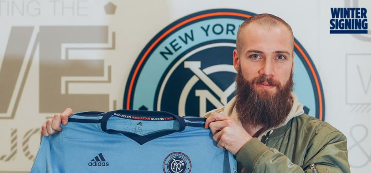 NYCFC INJURY REPORT: Only Berget is sidelined for season opener