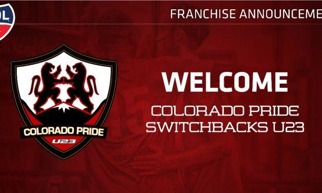 GETTING SOME PRIDE: Colorado Pride Switchbacks U23 joins PDL
