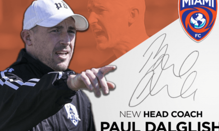 NO SEASON, BUT A NEW BOSS: Miami FC hires Paul Dalglish as head coach