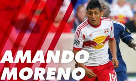 GOODBYE, HELLO: After waived by Red Bulls, Moreno signs with Red Bulls II