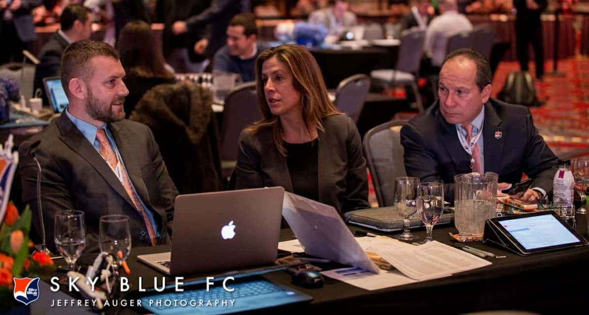 NON-SIGNS OF THE TIMES?: Sky Blue FC's top 2 draft choices have concerns, but Novo confident they will sign