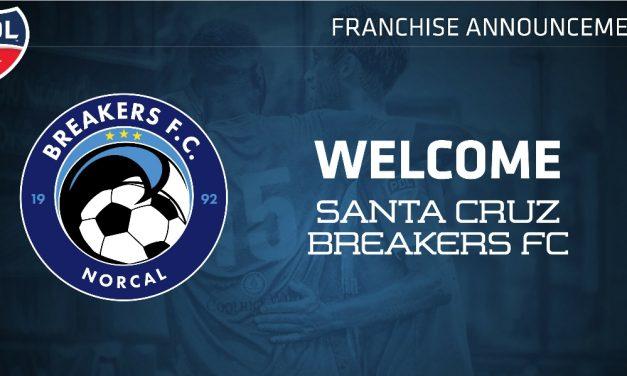 PDL ADDITION: Santa Cruz Breakers FC join the league