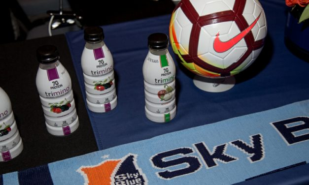 TEAMING UP: Sky Blue FC partners with trimino